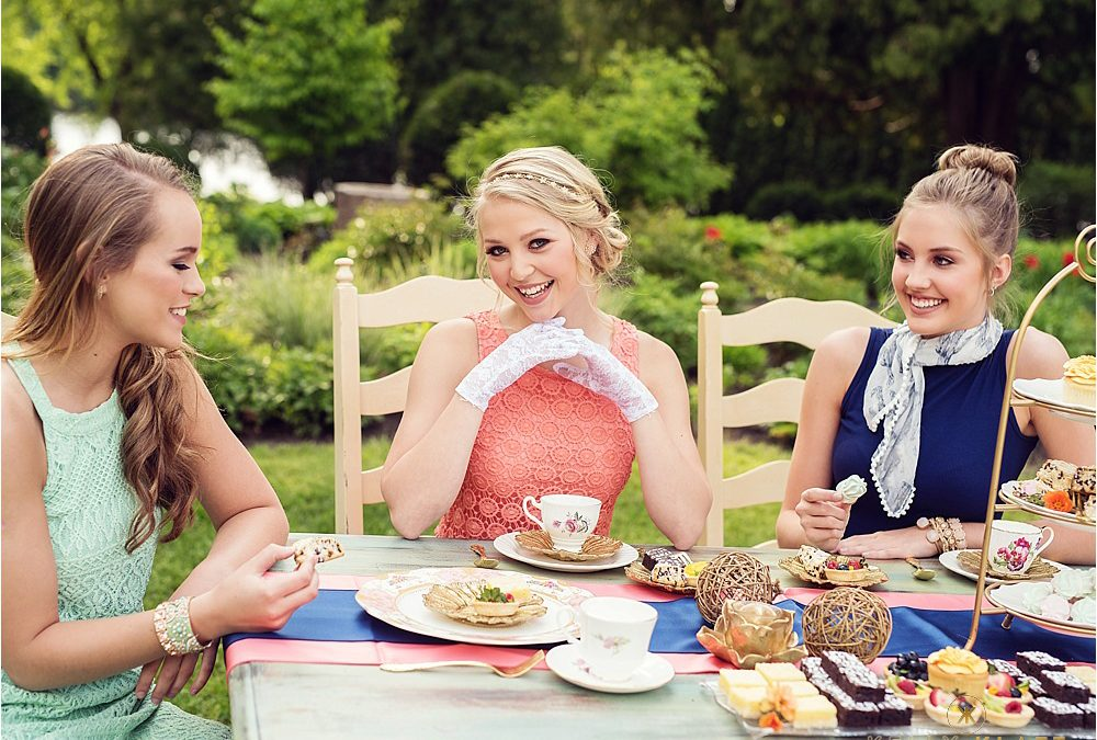 Senior Pictures in Minnesota  |  Tea Party with the Spring Senior Model Team